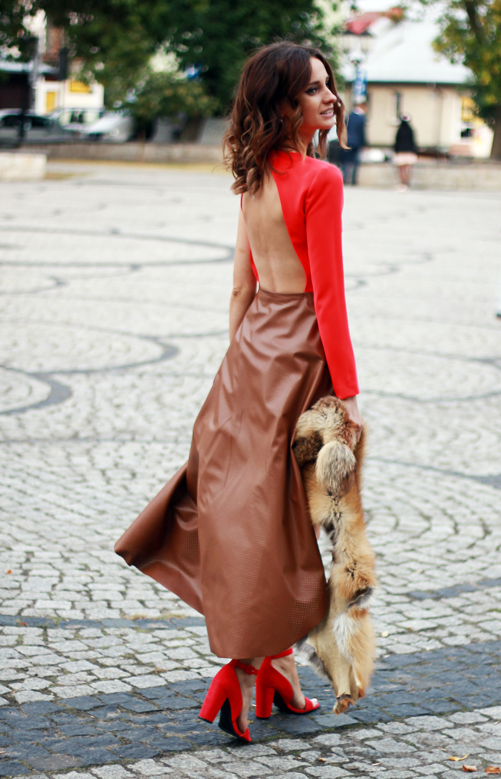 red dress original chic outfit clothes tumblr girl vogue lookbook ootd style