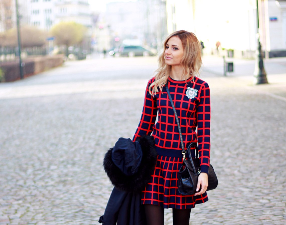 blonde fashion blogger girl look combo outfit street style tumblr whattowear