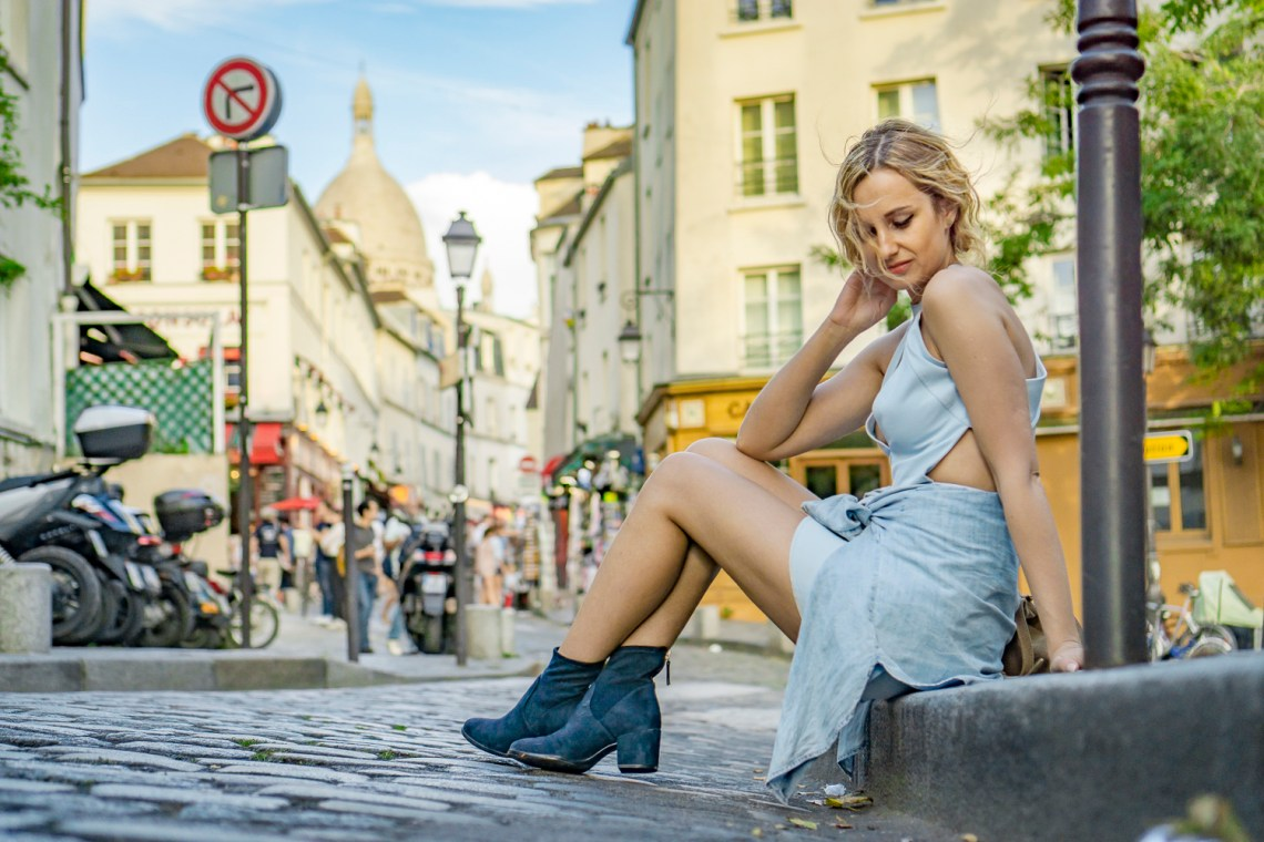 blue-dress-mini-denim-mango-shirt-hm-shoes-navy-boots-ootd-lookbook-look-outfit-blonde-tumblr-girl-paris-street-style-vogue-2