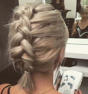 braids inspiration tumblr pinterest hairstyle inspo long blonde hair girl duch braid short hair