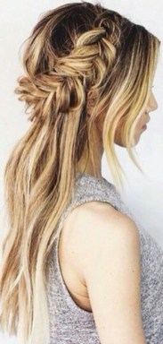 braids inspiration tumblr pinterest hairstyle side braid inspo 2