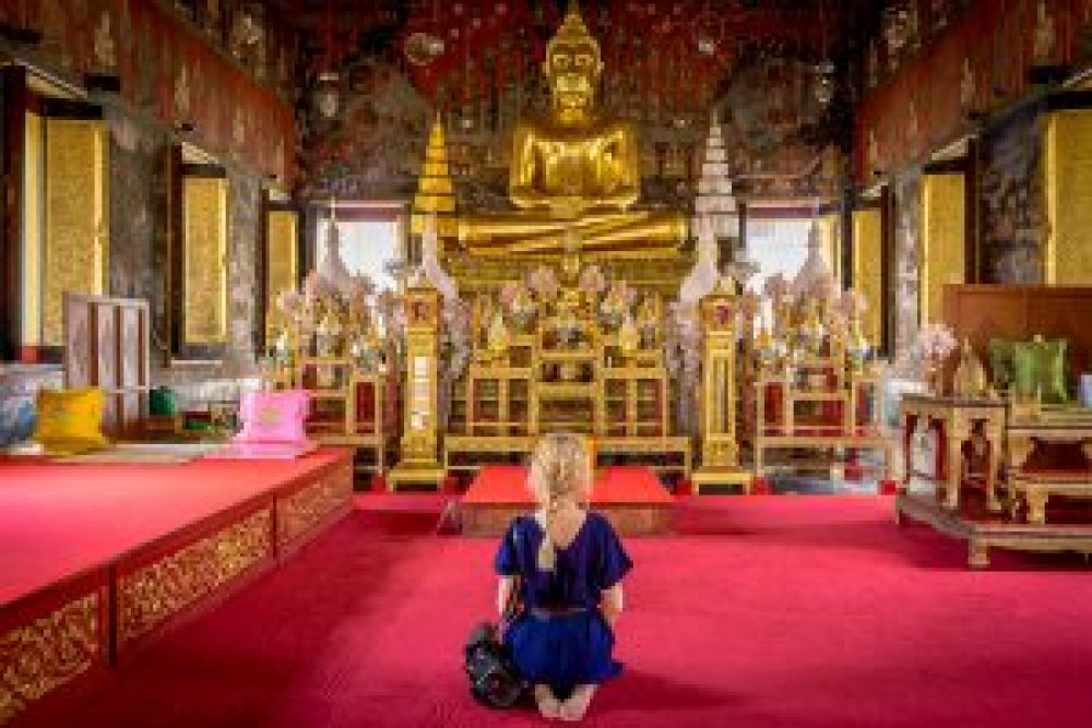 bangkok temple, budda