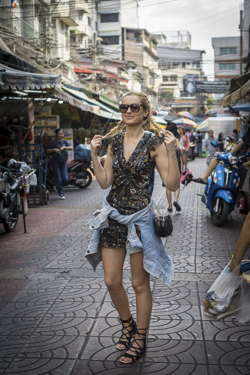 Streets Of China Town In Bangkok Thailand Style Gallery Outfit And