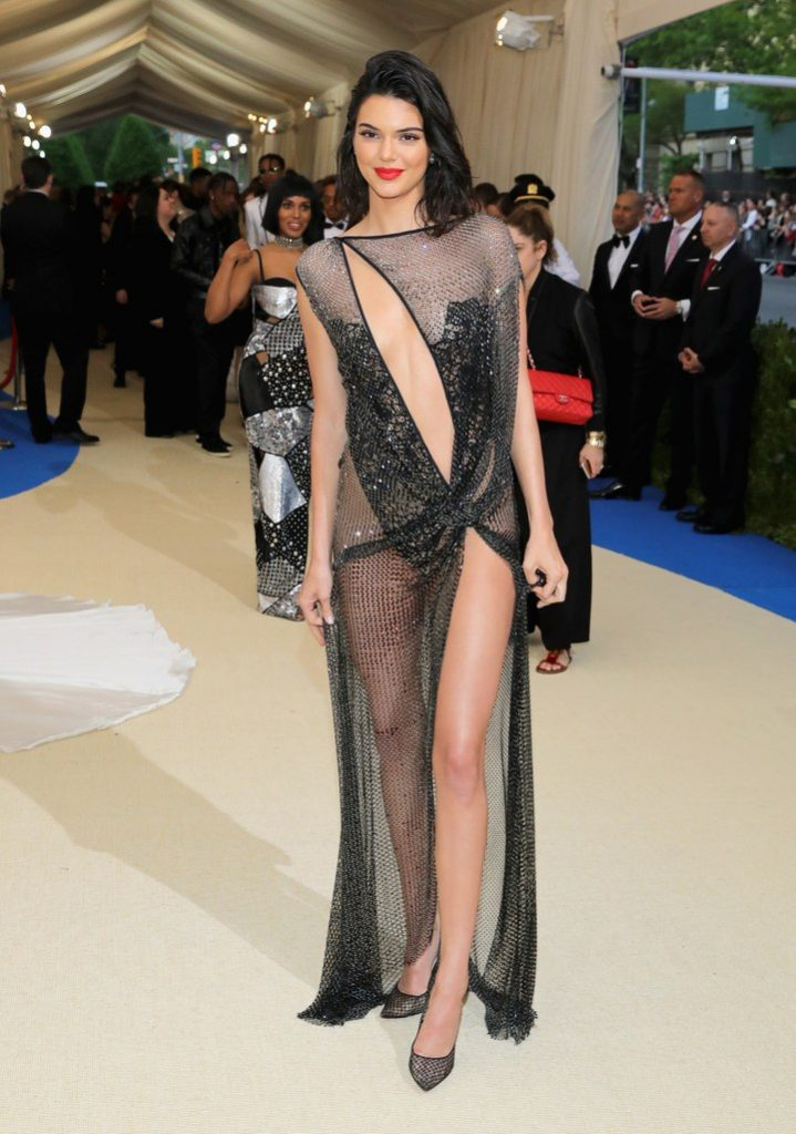 Kendall Jenner in La Perla Haute Couture Collection Met Gala 2017