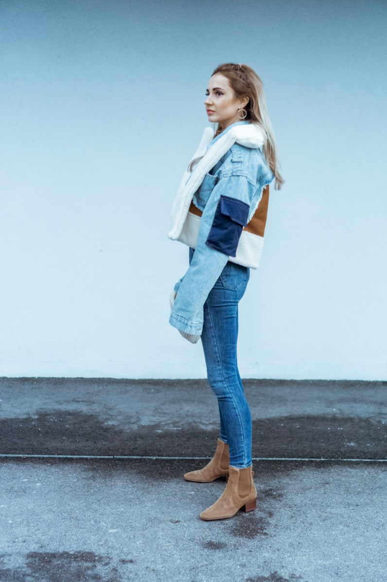 OOTD: Denim winter style look.