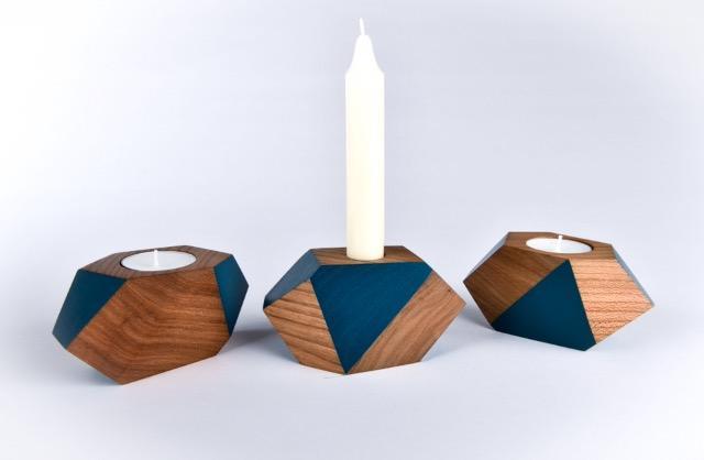 bougeoir-géometrie-bleu-face-Ouazo-xavier-courait-designmoiquitues.com