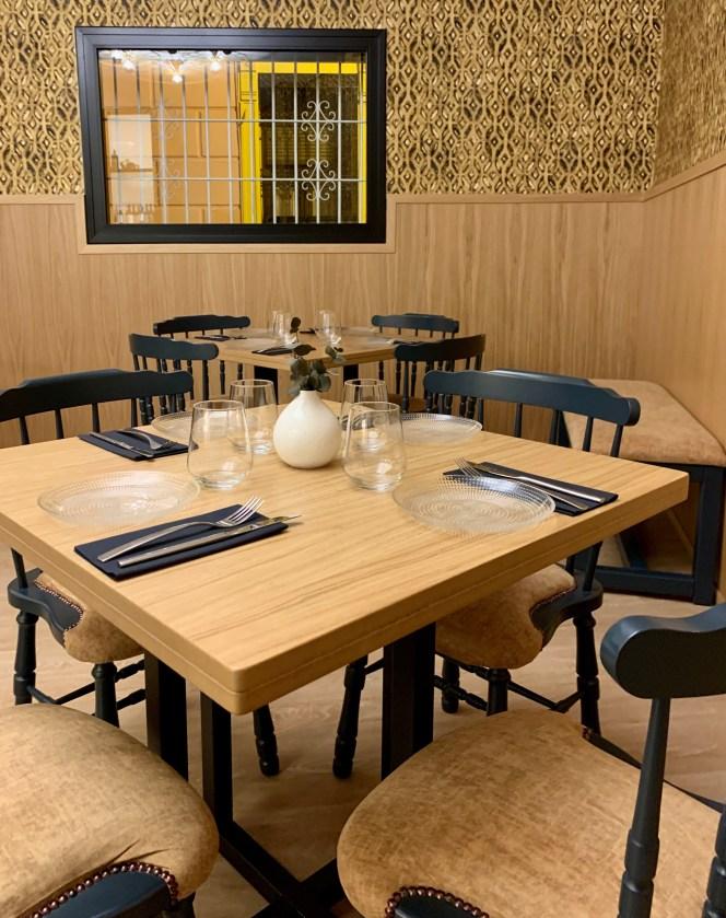 salle de restaurant seville
