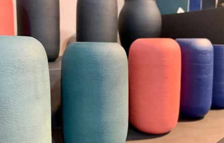 vases couleurs Edith Luthier