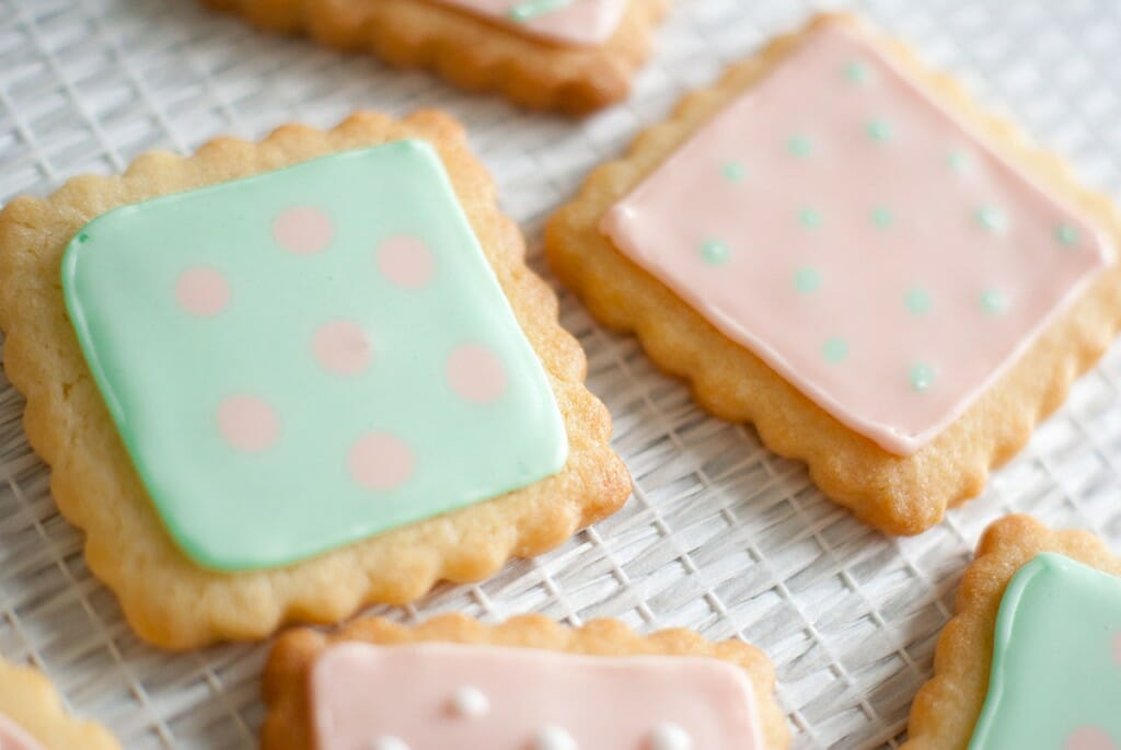 petits biscuits decores glacage royal