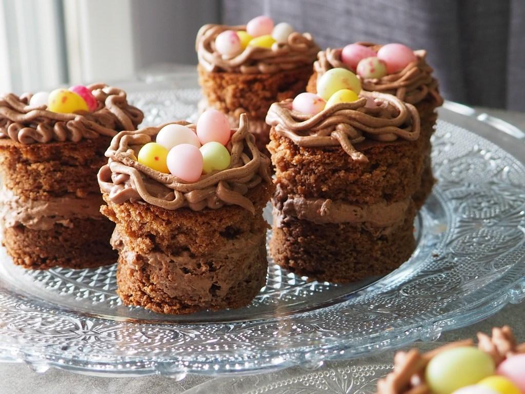 gâteaux nid de Pâques