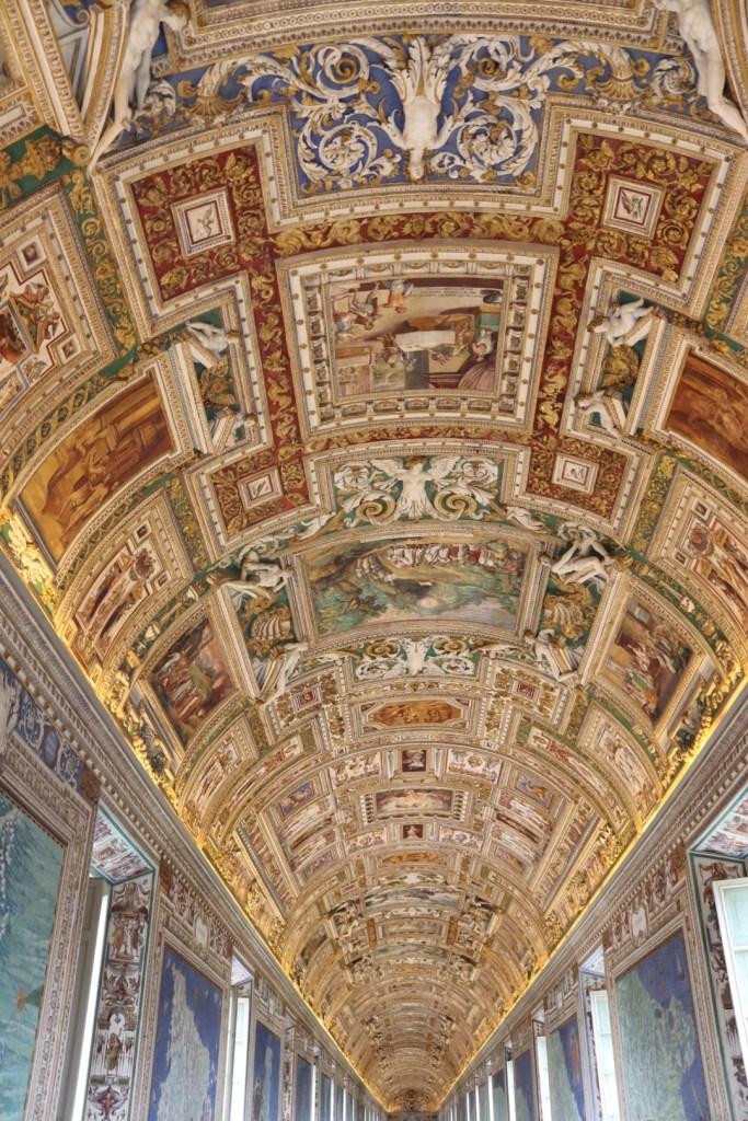 Plafond du Vatican