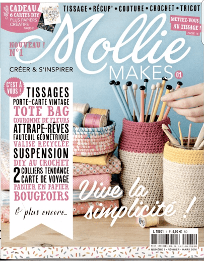 "magazine ""Mollie makes"""