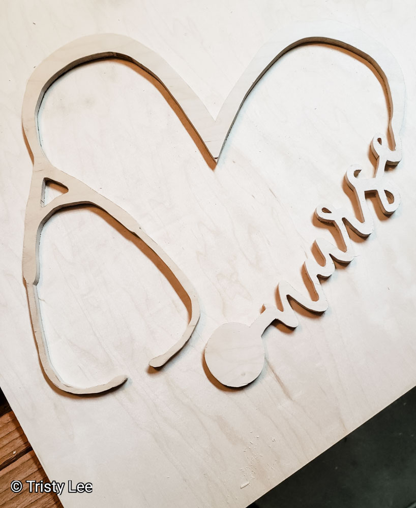 Design with scroll saw