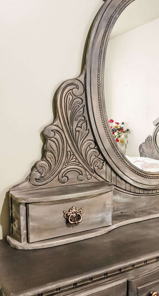 Mirror Dresser Chalk Paint