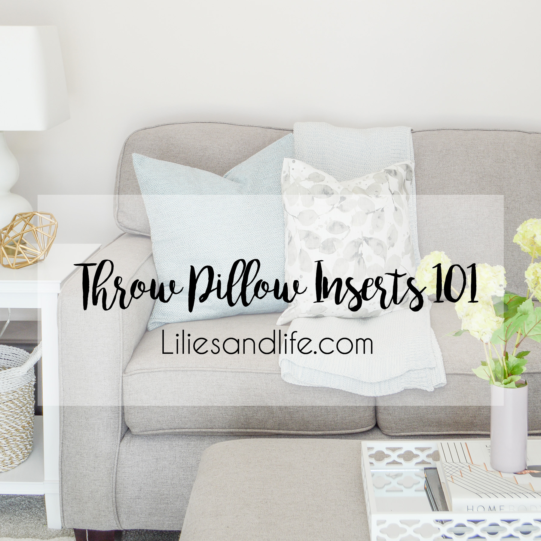 throw pillow inserts 101 lilies and