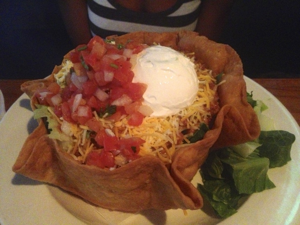 Jack Flats Taco Salad