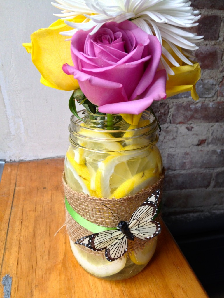 DIY Lemon Vase