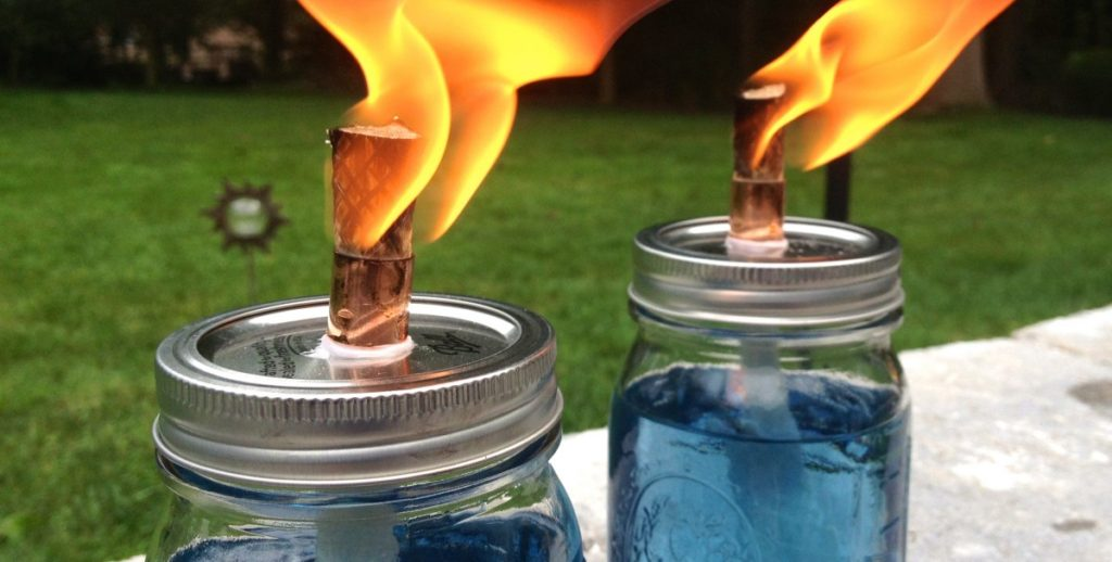 Mason Jar Citronella Candles DIY Citronella Candles