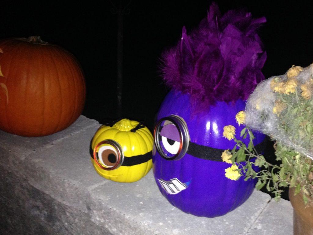 Minion Pumpkins Halloween Diy
