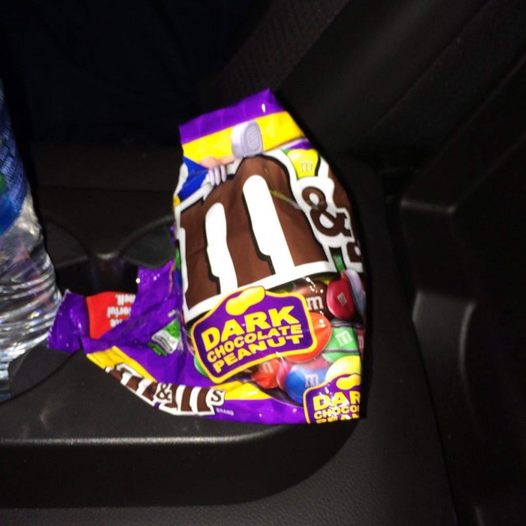 My new favorite obsession is Dark Chocolate M&Ms.
