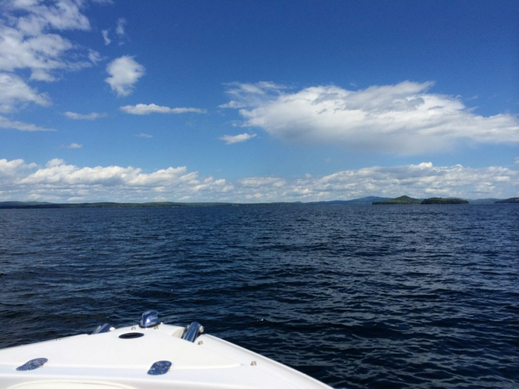 Sunday was gorgeous! We skipped across the lake to Wolfeboro for the day.