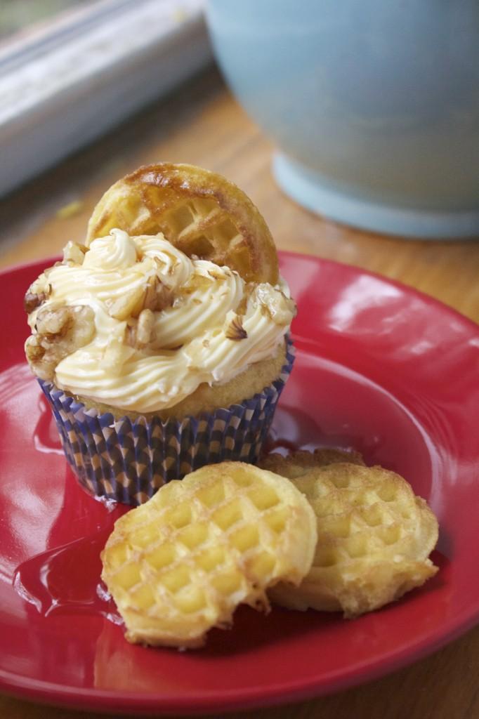 Waffle Cupcakes