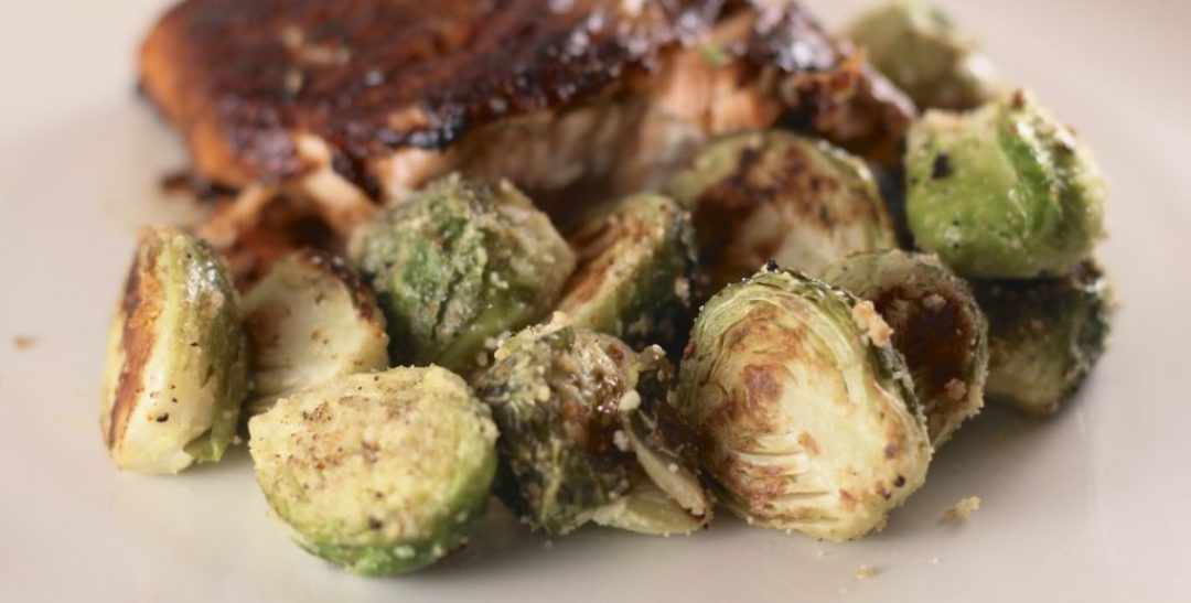 Garlic Lime Brussel Sprouts