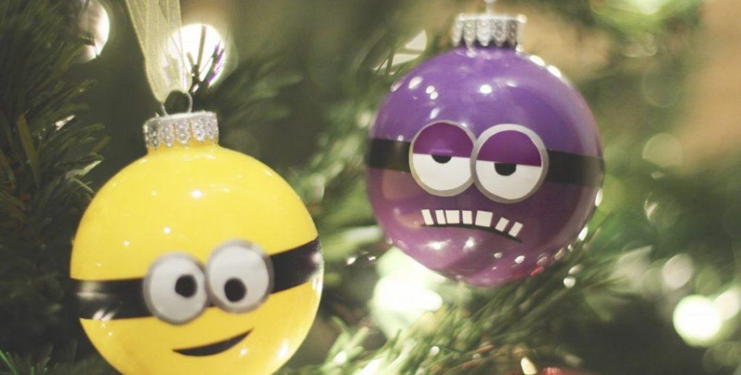 diy minion ornaments