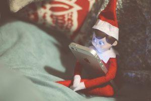 Elf on the Shelf: Took My iPhone