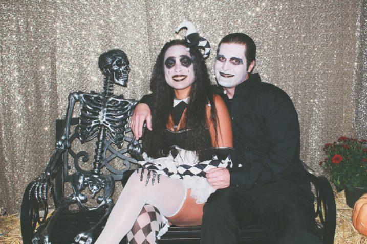Harley Quinn and a Vampire