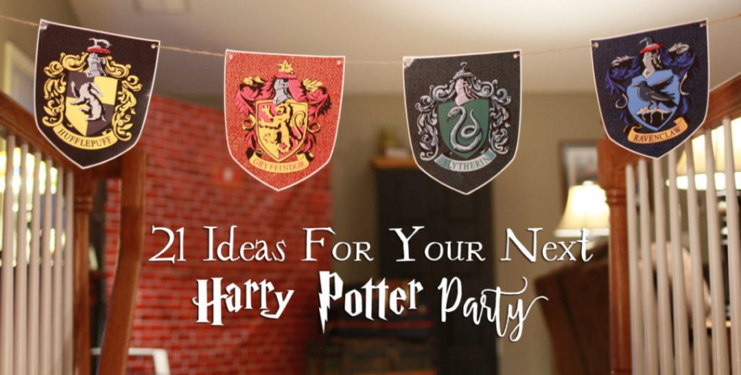 21 diy ideas for your next harry potter party another for Art decoration pdf