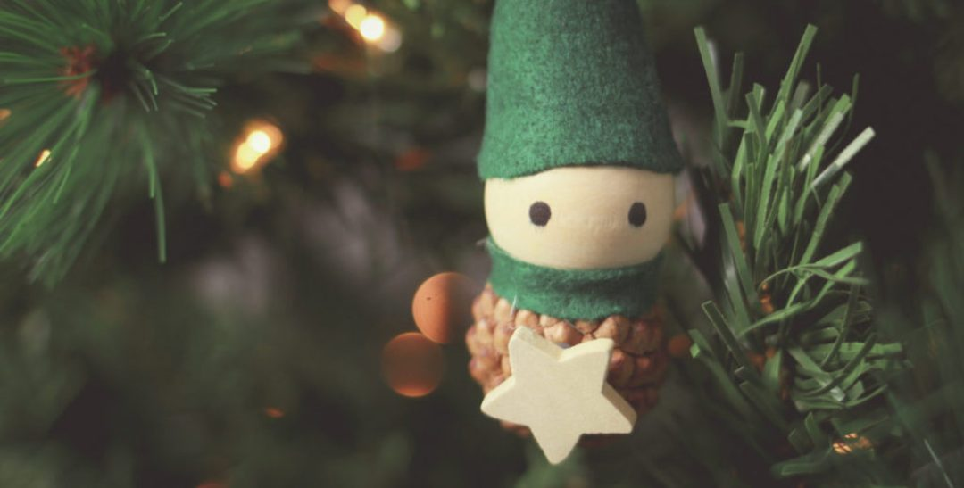 DIY Elf Ornaments