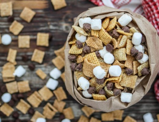 Camp Fire Chex Mix - Family Camping - Liliesandloafers