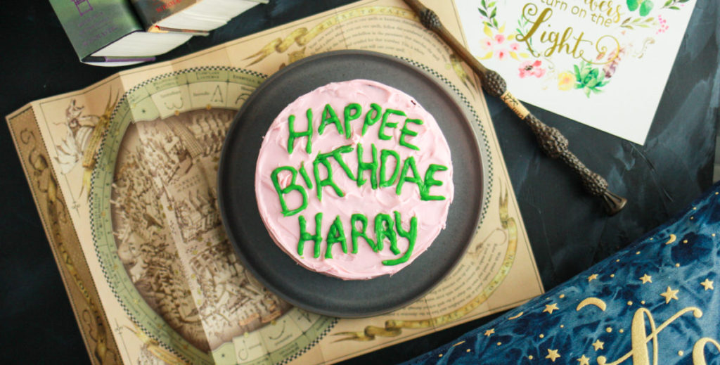 Tremendous Harry Potter Birthday Cake From Hagrid Lilies And Loafers Funny Birthday Cards Online Elaedamsfinfo