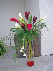 Tropical Calla Arrangement