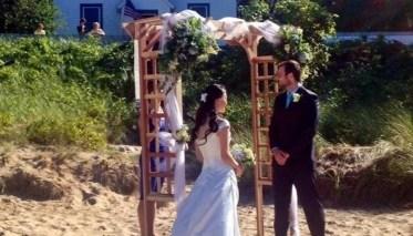 Beach Wedding 5-15