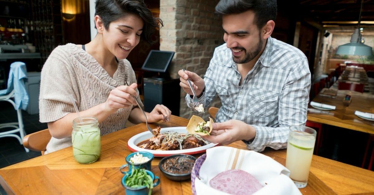 idée de date avec des tacos mexicains