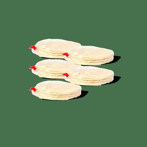 50 tortillas de mais
