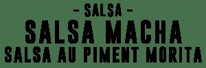 salsa macha au piment morita