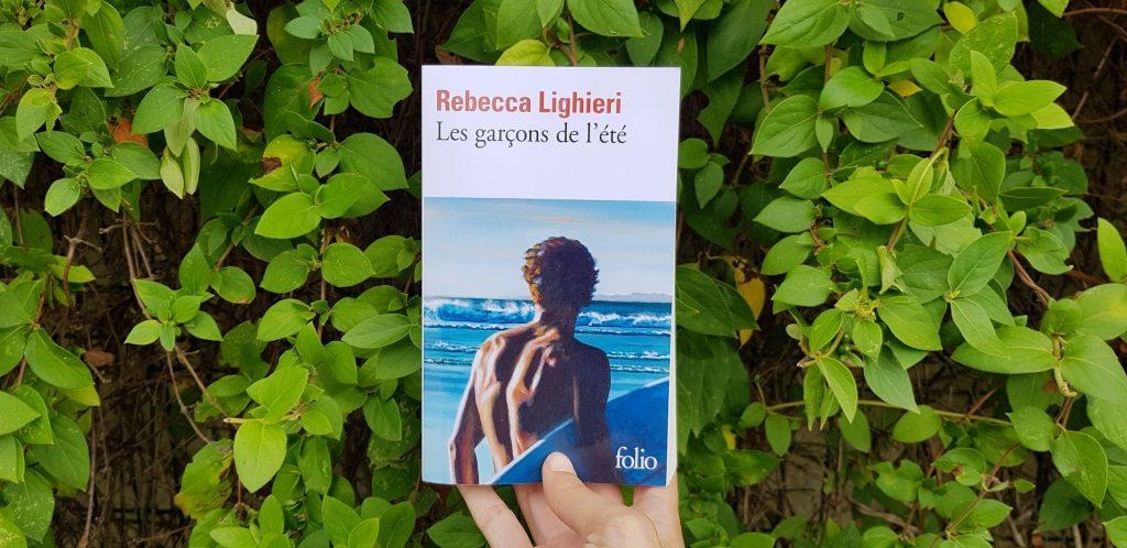 Les garçons de l'été Rebecca Lighieri