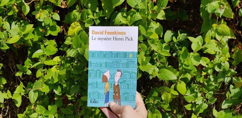 Le mystère Henri Pick de David Foenkinos