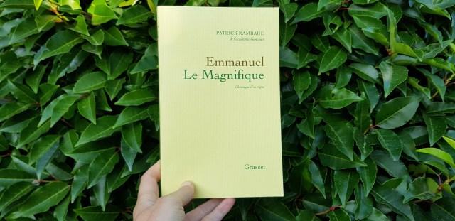 Emmanuel Le Magnifique de Patrick Rambaud
