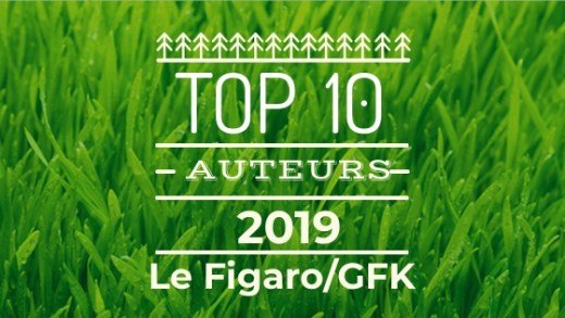 TOP DES AUTEURS 2019