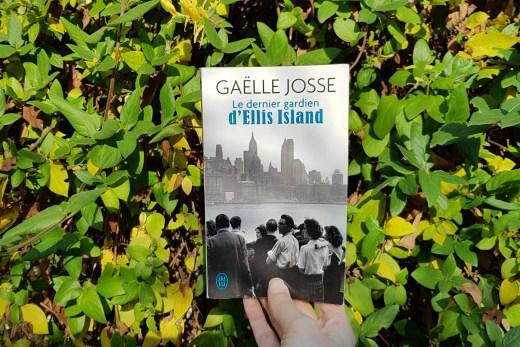 Le dernier gardien d'Ellis Island de Gaëlle Josse