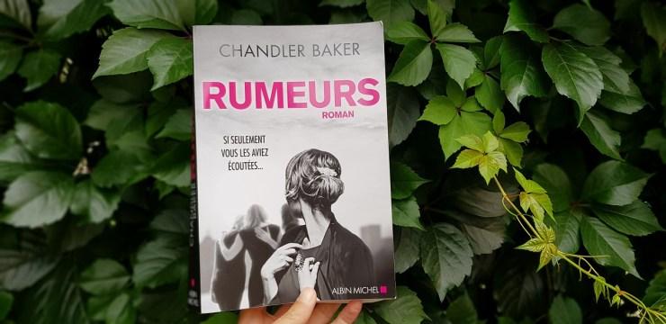 Rumeur Chandler Baker
