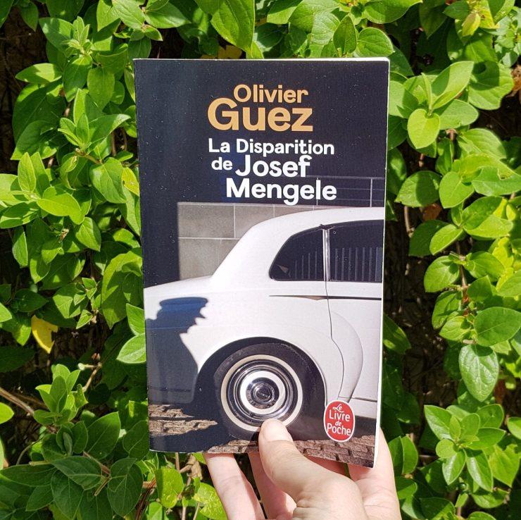 La Disparition de Josef Mengele Olivier Guez