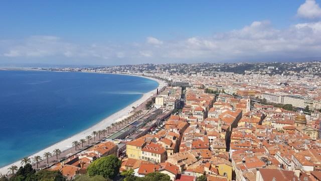 Nice - Baie des Anges et Vieux-Nice