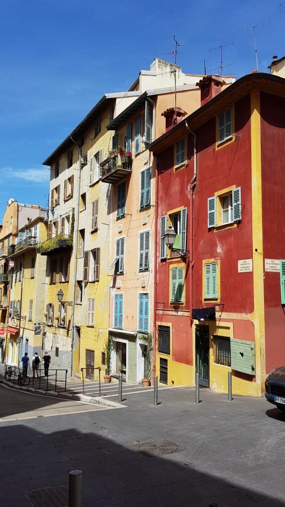Vieux-Nice - Façades