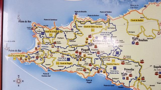 GR34 - randonnée Cap Sizun