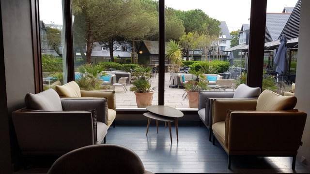 Hôtel Les salines - salon